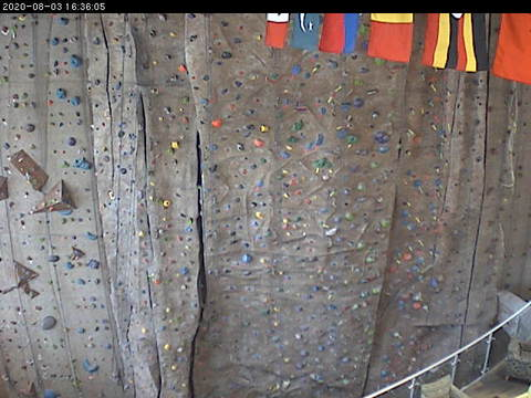 Spoelhof Fieldhouse Complex Climbing Wall at Calvin College