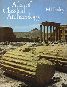 Book Cover - Title in white lettering over photograph of historical ruins site.