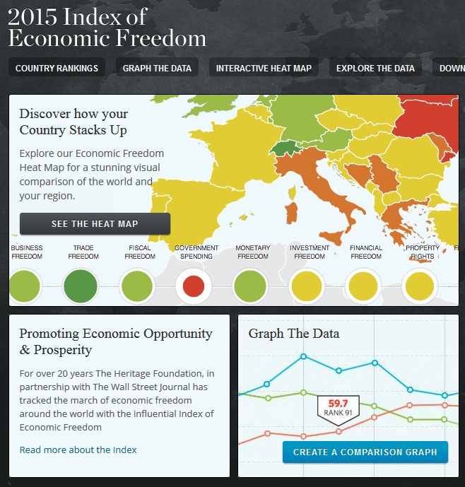 Index Cover - Three infographics set against a black background.